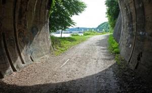 Wasserburg, Bahntunnel